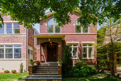 Cook County Single Family Home New: 2522 West Berteau Avenue
