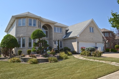 Matteson Single Family Home Contingent: 420 Carrick Road