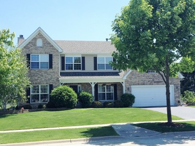 Crystal Lake Single Family Home New: 1231 Fieldstone Drive