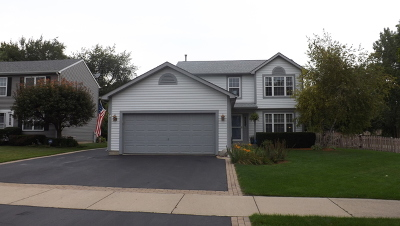 Fox Lake Single Family Home Contingent: 8320 Evergreen Court