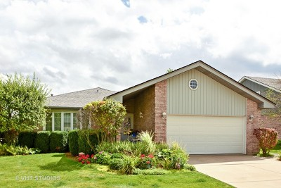 Tinley Park Single Family Home For Sale: 8305 Lilac Lane