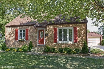 Lombard Single Family Home Contingent: 931 Hammerschmidt Avenue