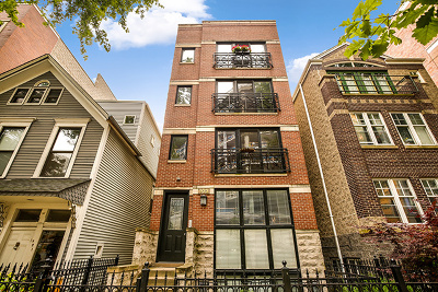Cook County Condo/Townhouse New: 923 West Altgeld Street #2