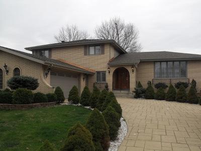 Orland Park Single Family Home New: 8529 Pine Street