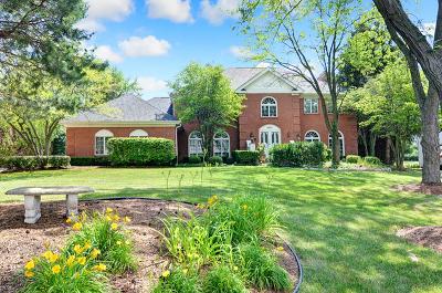 Burr Ridge Single Family Home Contingent: 8473 Kimberly Court