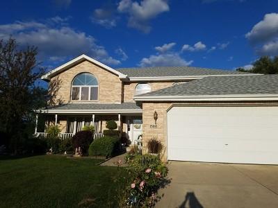 Homer Glen Single Family Home For Sale: 15019 Greenbrier Lane