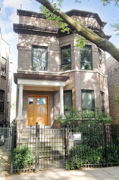 Cook County Single Family Home Contingent: 2633 North Whipple Street
