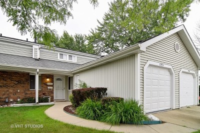 Hoffman Estates Condo/Townhouse Contingent: 1995 Raleigh Place