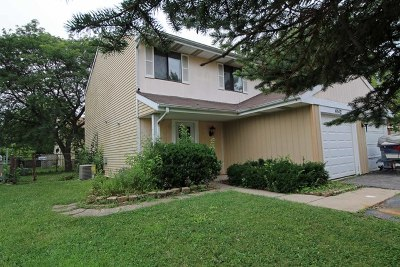 Hanover Park Condo/Townhouse Contingent: 4512 Whitney Drive