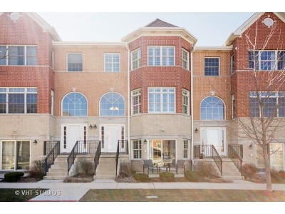 Orland Park Condo/Townhouse New: 17960 South Fountain Circle