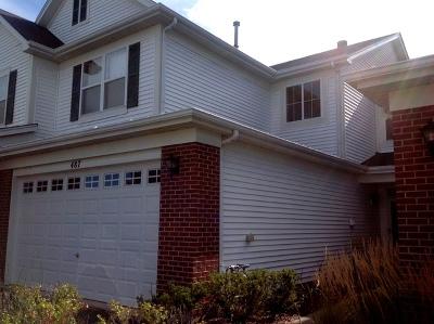 Oswego Condo/Townhouse For Sale: 487 Dancer Lane #487