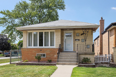 Chicago Single Family Home New: 6322 South Oak Park Avenue