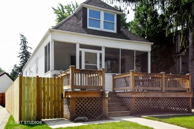 Chicago Single Family Home New: 6257 North Niagara Avenue