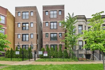 Chicago Condo/Townhouse New: 4933 South Prairie Avenue #3