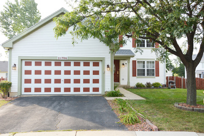 Plainfield Single Family Home Re-Activated: 21706 Inverness Drive