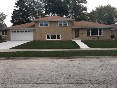 South Holland Single Family Home Contingent: 16907 Ingleside Avenue