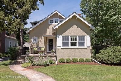 Winnetka Single Family Home For Sale: 873 Oak Street