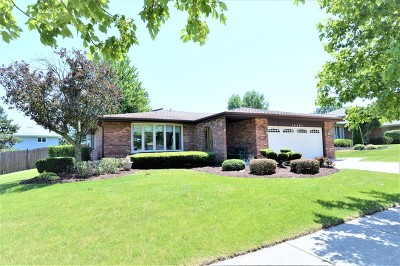 Orland Park Single Family Home For Sale: 14363 Streamwood Drive