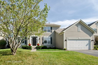 Gilberts Single Family Home Contingent: 131 John M Boor Drive