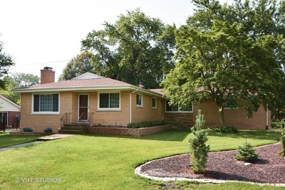Palos Heights, Palos Hills Single Family Home Price Change: 12101 South 71st Court
