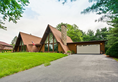 Johnsburg Single Family Home For Sale: 2628 Knob Hill Road
