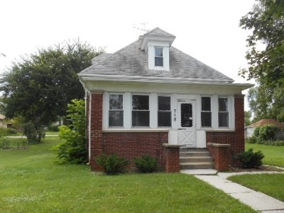 Will County Single Family Home New: 718 Woodward Street