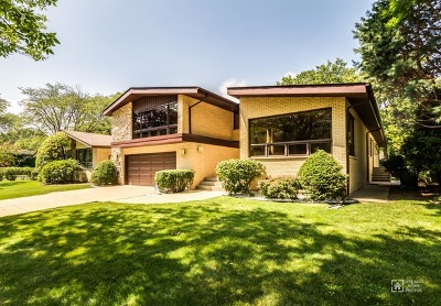 Wilmette Single Family Home For Sale: 405 Brookside Drive