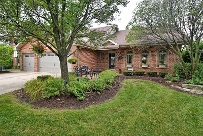Orland Park Single Family Home For Sale: 11827 Brookdale Court