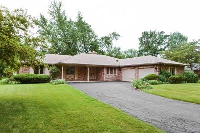 Flossmoor  Single Family Home For Sale: 1626 Tina Lane