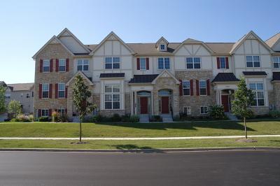 Carol Stream Condo/Townhouse For Sale: 296 Bennett Drive