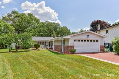 Lombard Single Family Home Contingent: 413 Hillcrest Lane