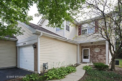 Schaumburg Condo/Townhouse For Sale: 1299 Cranbrook Drive #1299