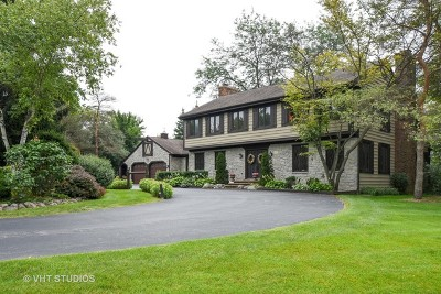 Barrington Hills Single Family Home For Sale: 343 Ridge Road