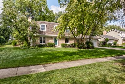 Wheaton Single Family Home For Sale: 26w258 Menomini Drive