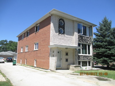 Palos Heights, Palos Hills Multi Family Home For Sale: 10622 South 82nd Court