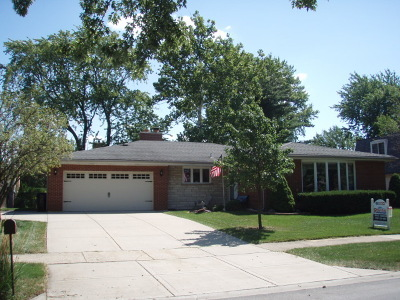 Orland Park Single Family Home For Sale: 14435 South 85th Avenue
