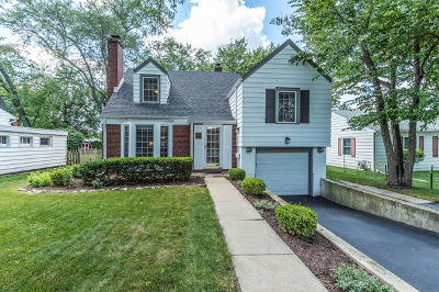 Lombard Single Family Home Contingent: 472 South Park Road