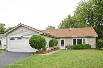 Hanover Park Single Family Home Contingent: 3895 Shoal Drive