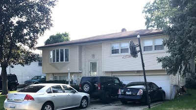 Hanover Park Single Family Home Price Change: 7310 Iris Avenue