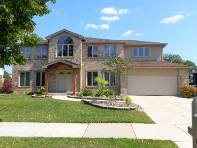 Orland Park Single Family Home For Sale: 14007 South 84th Avenue