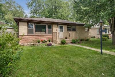 West Chicago IL Single Family Home Price Change: $172,500