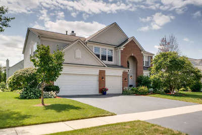 Plainfield Single Family Home Price Change: 24641 Apollo Drive