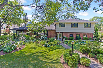 Western Springs Single Family Home Price Change: 5100 Ellington Avenue