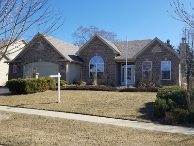 McHenry Single Family Home For Sale: 1722 Hoover Trail