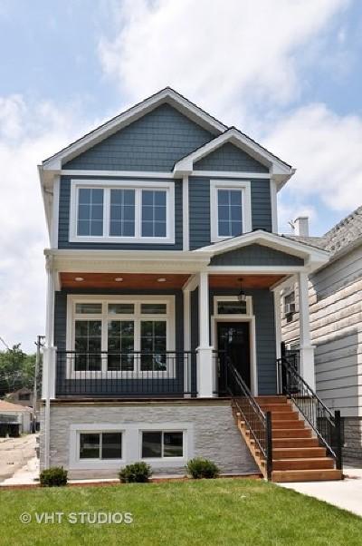 Chicago Single Family Home For Sale: 4614 North Kostner Avenue
