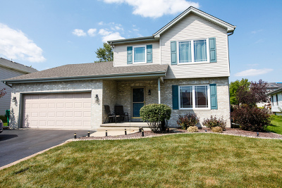 Romeoville Single Family Home Price Change: 633 Coneflower Drive