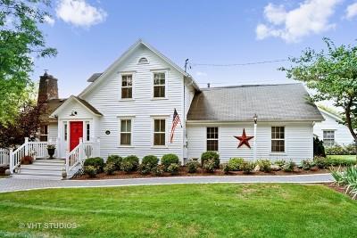 Barrington Hills Single Family Home Contingent: 38 Ridge Road