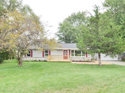 Johnsburg Single Family Home Contingent: 4108 Jewel Drive