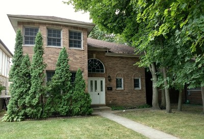 Skokie Single Family Home For Sale: 5327 Madison Street