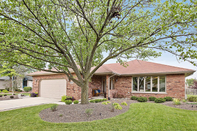 Mokena Single Family Home Contingent: 9840 Giles Drive